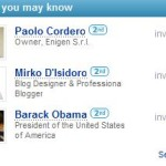 Obama & I, secondo LinkedIn
