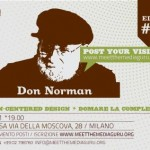 Don Norman domani a Milano