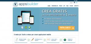 Apps Builder -generatore di mobile Apps