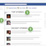 Il nuovo newsfeed di Facebook..