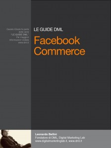 DML- Guida al facebook commerce