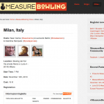 MeasureBowling il 12 giugno a Milano