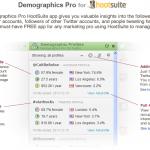 Demographics Pro integrato con Hootsuite