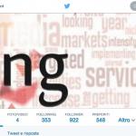 Il nuovo profilo Twitter