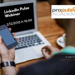Il primo Webinar di Propulse Academy