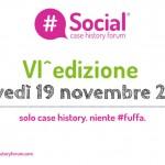 Il Social case history forum, 19 novembre a Milano