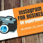 Instagram for Business – un esperimento